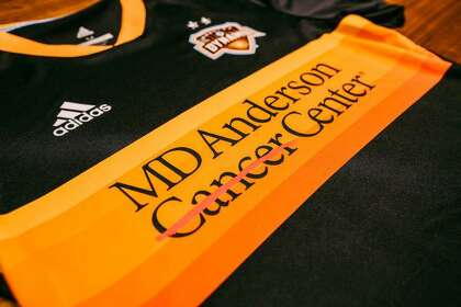 Dynamo's new partnership with MD Anderson transcends jersey name