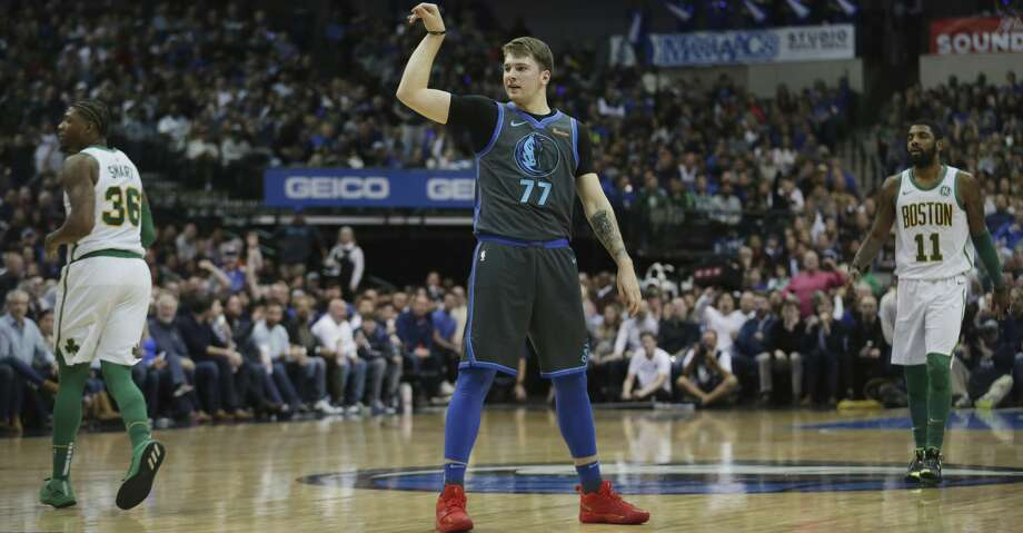 PHOTOS: Rockets game-by-game Dallas Mavericks forward Luka Doncic pauses after a shot in the first half of an NBA basketball game in Dallas Saturday, Nov. 24, 2018. The Mavericks beat the Celtics 113-104. (AP Photo/Andy Jacobsohn) Browse through the photos to see how the Rockets have fared in each game this season. Photo: Andy Jacobsohn/Associated Press
