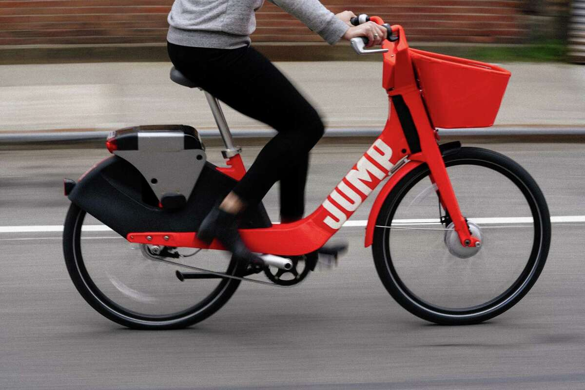 14,000 The number of dockless electric vehicles currently in San Antonio. 12,000 are scooters and another 2,000 are bikes.