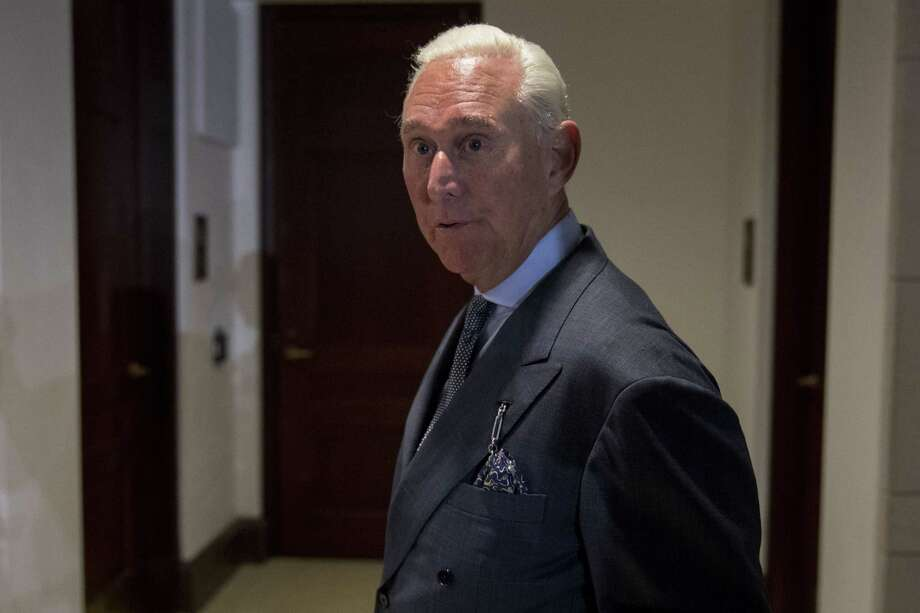 Roger Stone, seen here in 2017, is a longtime GOP operative. Photo: Bloomberg Photo By Andrew Harrer / Bloomberg
