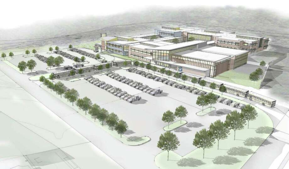Conceptual images and plans for Huckleberry Hill Elementary School in Brookfield. Photo: Contributed Photo / The News-Times Contributed