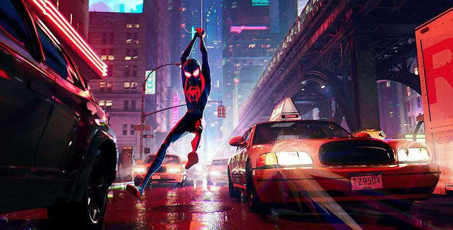 """""""Spider-Man: Into the Spider-Verse"""" (Sony Pictures/TNS) Photo: Sony Pictures"""