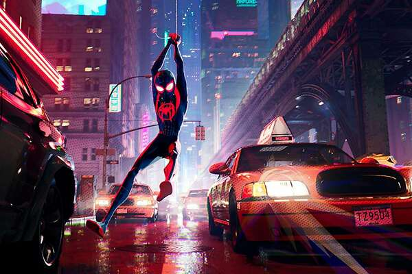 """Spider-Man: Into the Spider-Verse"" (Sony Pictures/TNS)"