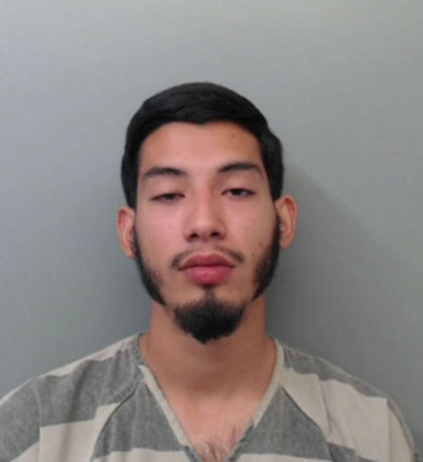 Carlos Gerardo Barrera, 21, was charged with theft of a vehicle. Photo: Webb County Sheriff's Office