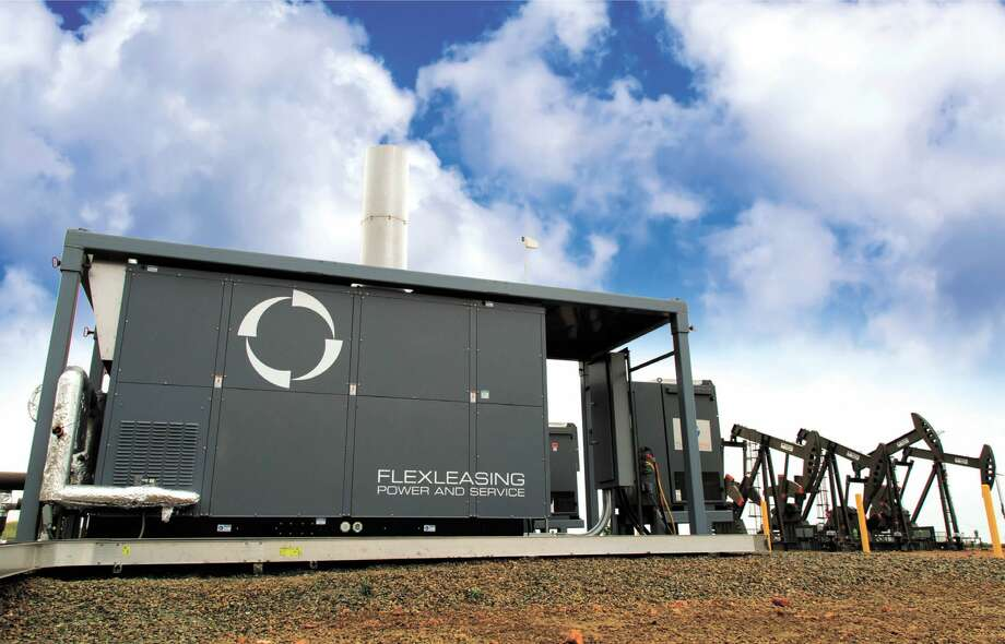 Reduce emissions and power costs with the 99-percent-up-time Flex  Turbine. Call Flex Leasing Power and Service at 720-573-7664 to learn  more. Photo: Courtesy