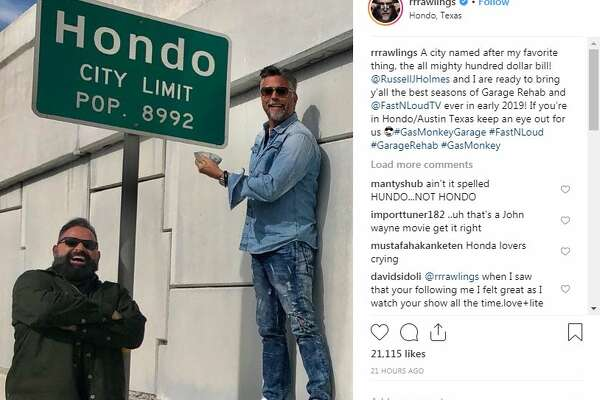 Gas Monkey Garage's Richard Rawlings shares photos from San