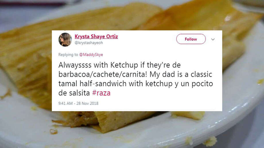 Drenched in ketchup