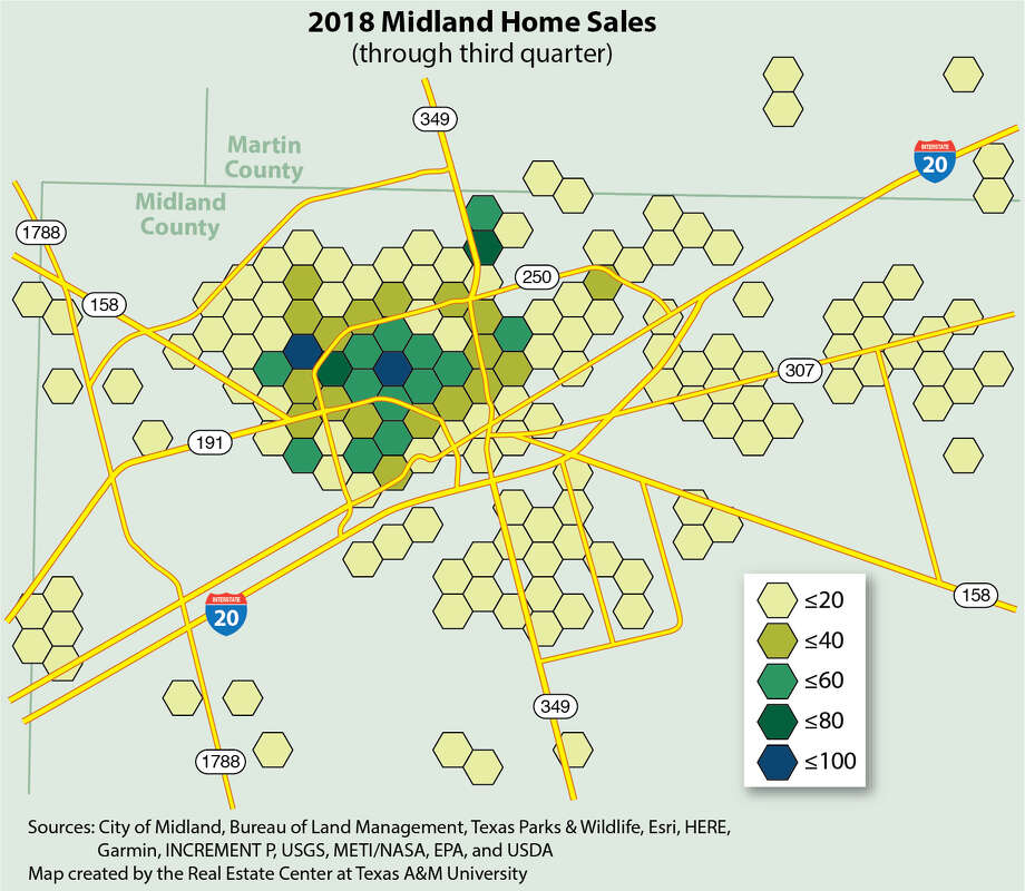 In response to rapid population growth and rising income, home sales volume bounced back in 2017 with 2,774 home sales, a 34 percent jump over 2016. September 2018 year-to-date (YTD) sales were at 2,139, ahead of September 2017's YTD level of 2,095 and on pace to exceed 2017 year-end levels.  Photo: Real Estate Center, Texas A&M University