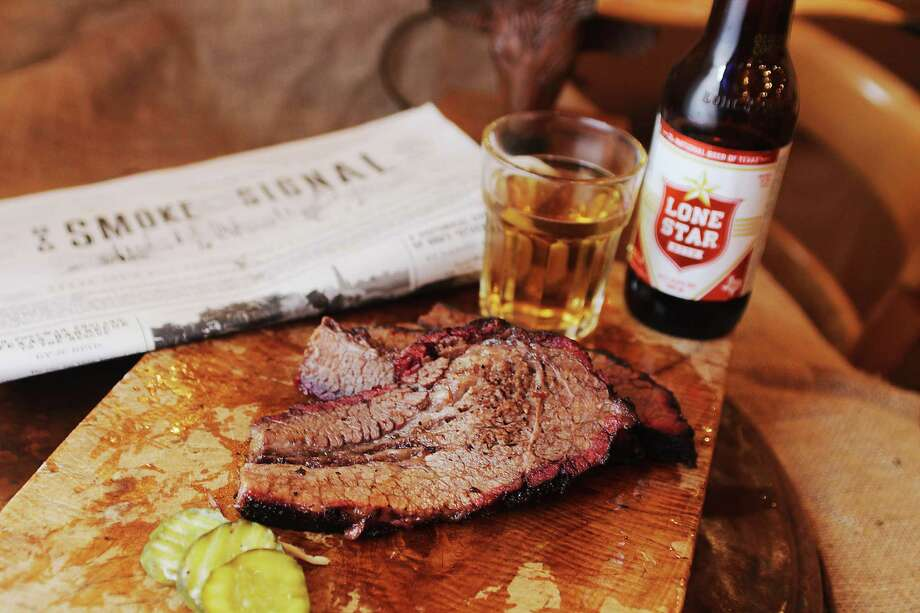 Pictured is brisket and beer at Texas Joe's, a Texas style barbecue joint in London. >>>See Houston's best barbecue joints, as voted by our readers.