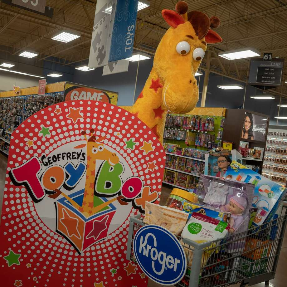 Geoffrey's Toy Box are sold in 600 Kroger stores across the country Photo: Courtesy Of Kroger