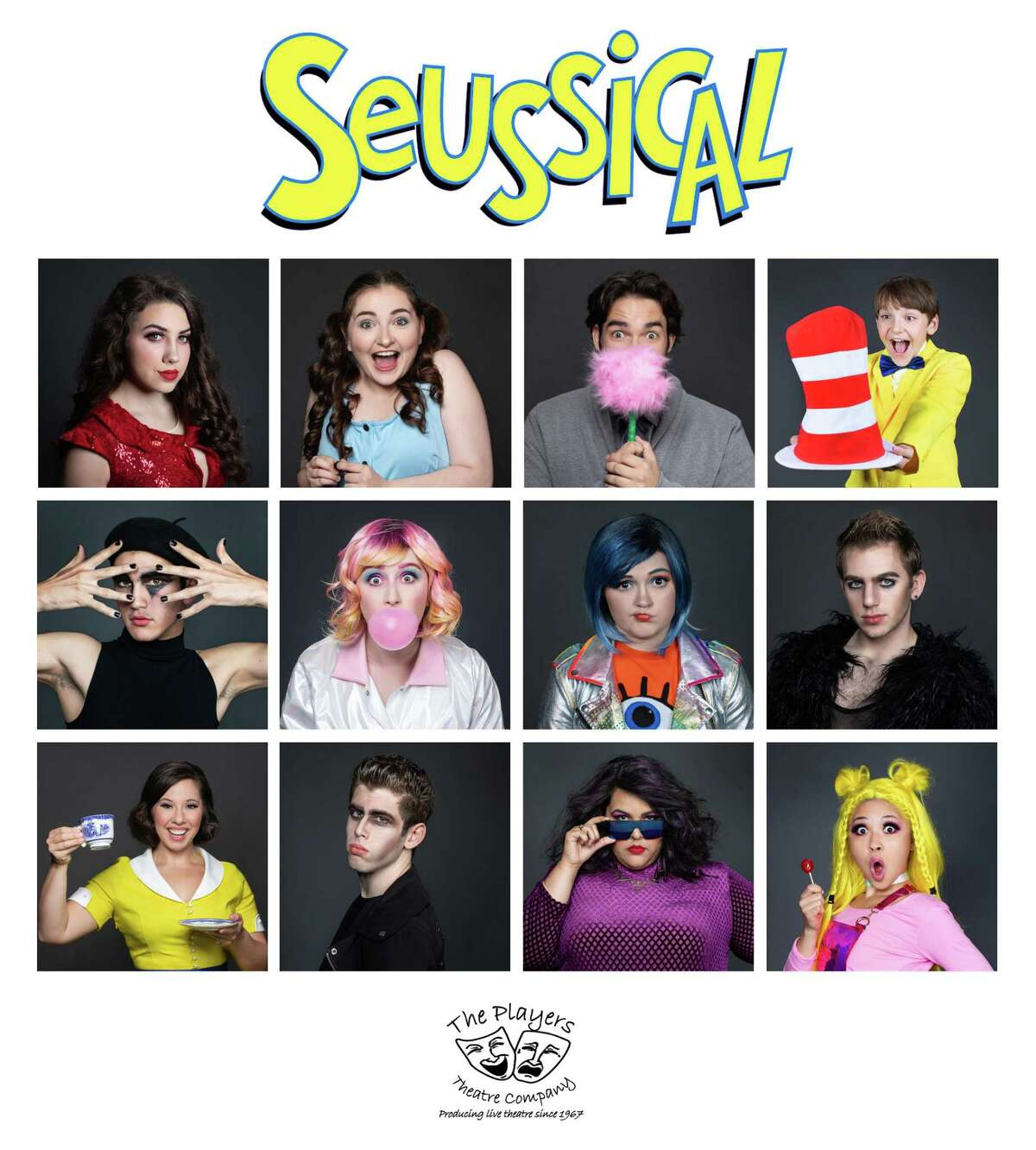 """The Players Theatre Company presents """"Seussical"""" at the Owen Theatre Dec. 7-23."""