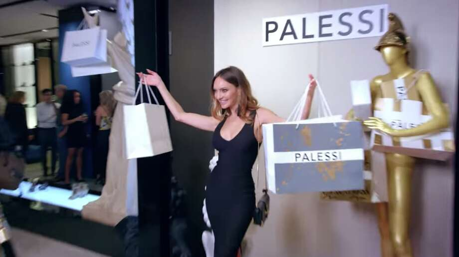 An advertisement shows how Payless set up a fake luxury store and convinced people to spend hundreds on shoes. Photo: Payless
