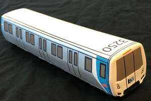 BART is selling a toy BART car -- at only one station -- this holiday season.