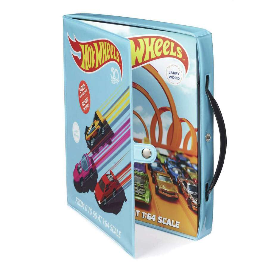 Kris Palmer's Hot Wheels: From 0 to 50 at 1:64 scale (Motorbooks) is an engaging holiday read, whether you're a nostalgic Hot Wheels owner or interested in how great ideas are hatched and executed into a hit seller. (Motorbooks photo)