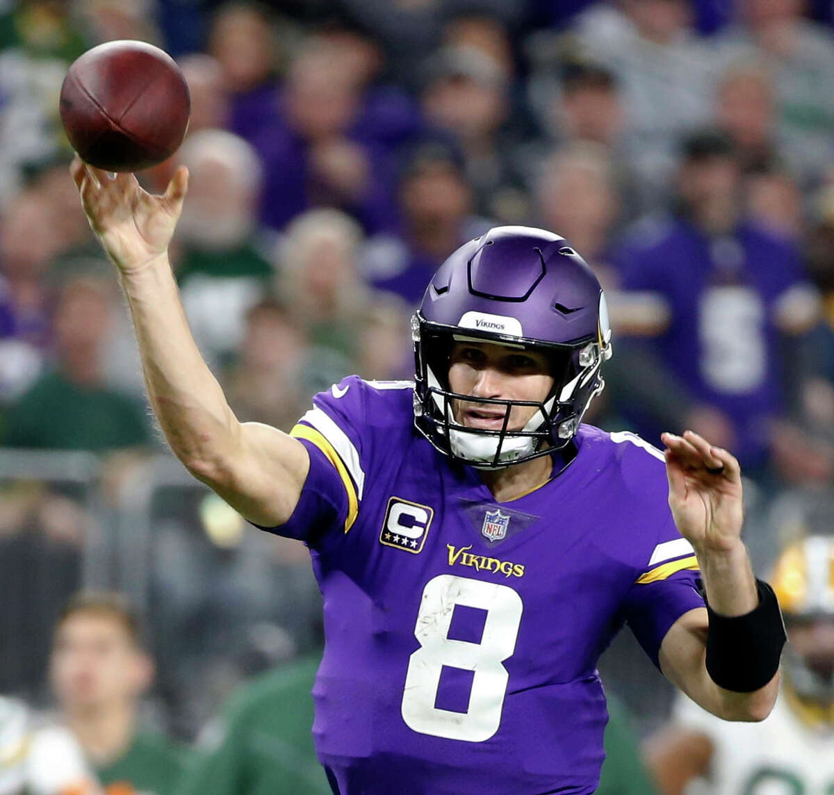 How is Kirk Cousins different in Minnesota's system this season as opposed to be with Washington last year? Carroll: