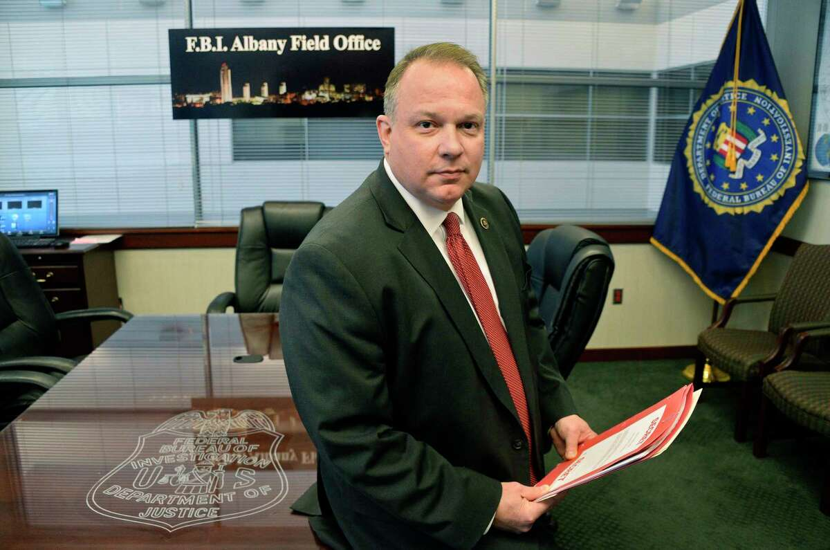 James N. Hendricks, the new special agent-in-charge of the FBI Albany Field Office in their headquarters Wednesday Nov. 28, 2018 in Albany, NY. (John Carl D'Annibale/Times Union)