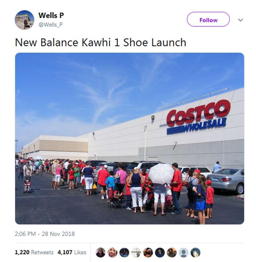 @Wells_P: New Balance Kawhi 1 Shoe Launch Photo: Twitter Screengrabs