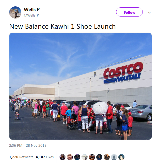d7141675759f81 Twitter users step right into Kawhi Leonard heckling after learning of his New  Balance endorsement - San Antonio Express-News