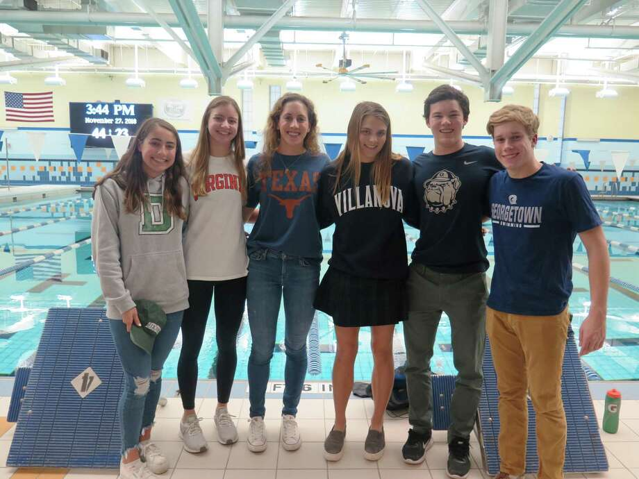Numerous athletes from Chelsea Piers Aquatic Club recently announced that they will continue their respective swimming careers at Division I colleges. Photo: Contributed Photo / Contributed Photo / Greenwich Time Contributed