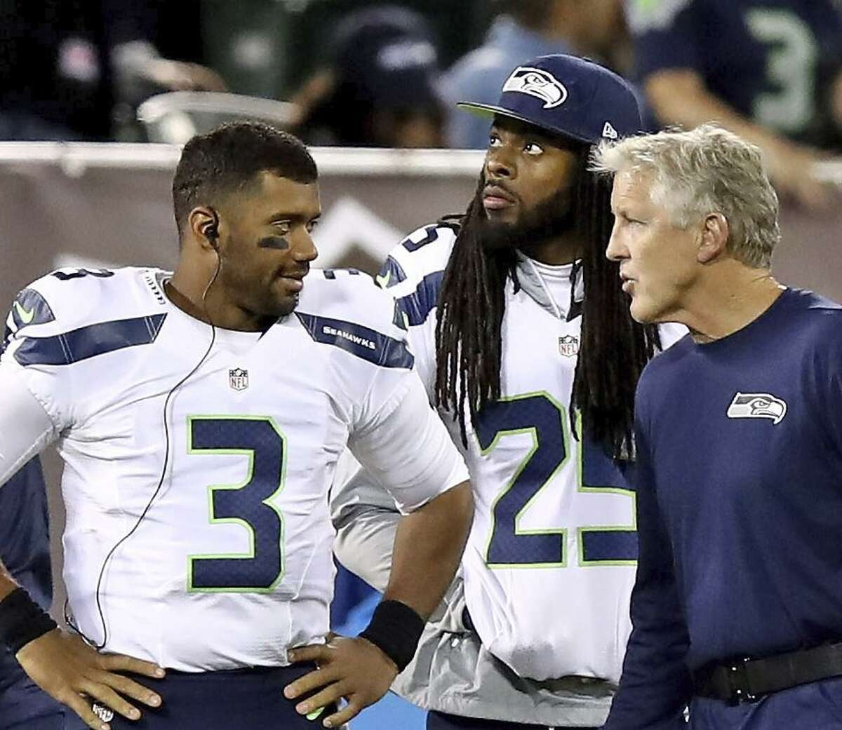 What has Pete Carroll taught you in your time in Seattle?  Wilson: