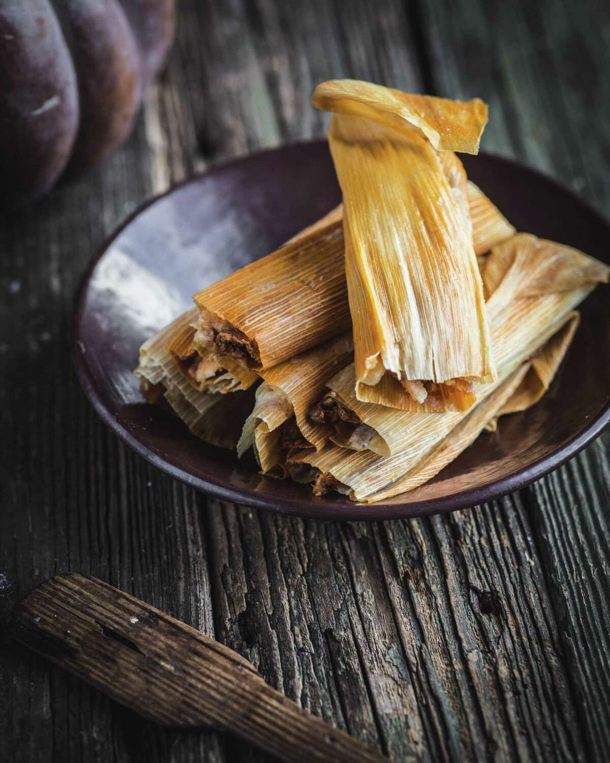 A batch of tamales made by cookbook author and food scholar Melissa Guerra.