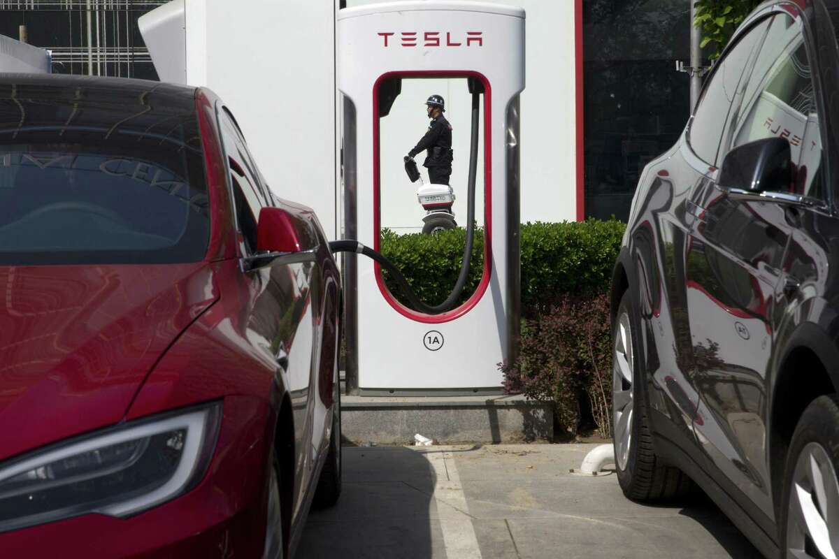 Under one scenario, electric vehicles will account for 100 percent of new car sales in the U.S. Europe and China by 2040.