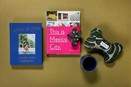 "The books of ""World of Style,"" and ""This is Mexico City,"" along with Foggy Dog toys and a Luvhaus ceramic tumbler, are among 2018's gifts for the holidays, een on Wednesday, Nov. 14, 2018 in San Francisco, Calif."