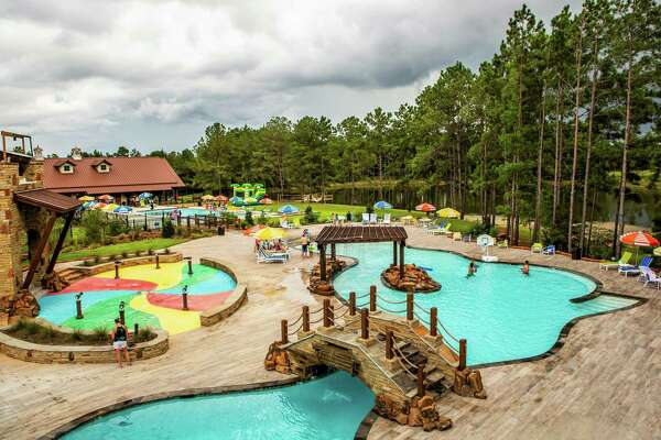 The Fort at Bluejack National resort and club offers resort-style pools and splash pads.