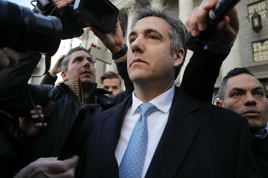 Michael Cohen is asking a federal judge that he be allowed to avoid prison when he is sentenced in less than two weeks. Photo: Julie Jacobson / Associated Press