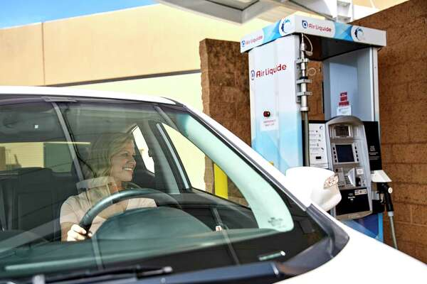 The Houston office of French-owned industrial gas company Air Liquide is betting on the growing adoption of hydrogen-powered vehicles with plans to build a $150 million liquid hydrogen plant in the western United States. The company already owns a hydrogen fueling station in Anaheim, California.