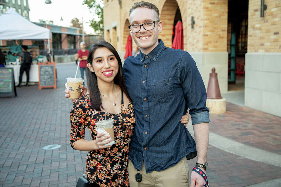 The Pearl presented its first Holiday Night Market of the season Thursday, Nov. 29, 2018. The farmers market featured vendors showcasing traditional holiday craft arts and treats. Pearl Holiday Night Market will be every Thursday through Dec. 20. Photo: Joel Pena For MySA