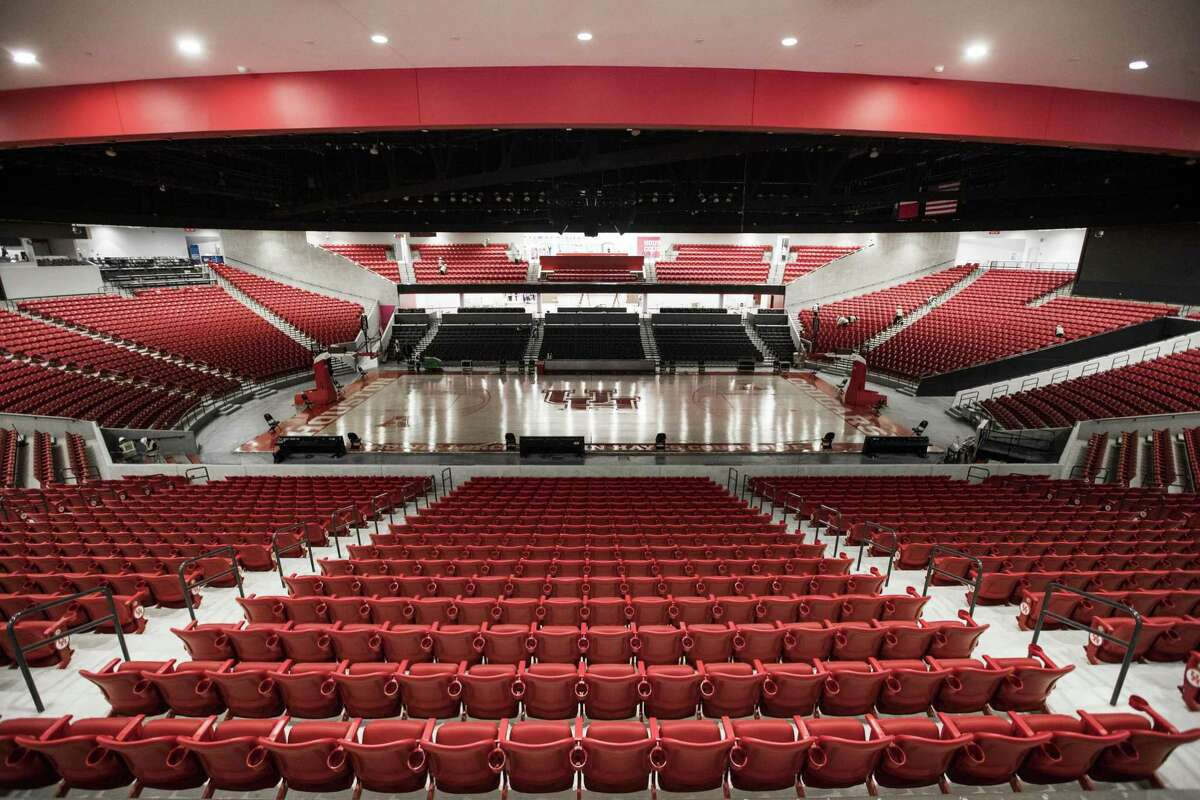 This is what a $60 million transformation looks like. UH will host 18th-ranked Oregon on Saturday night in the official opening of the 7,100-seat Fertitta Center.