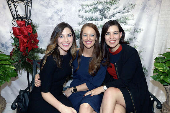 Elizabeth McKim, Cat Griffin and Sara Norman were at the opening night of the Junior League of Beaumont's annual Main Street Market Thursday at the Civic Center. The holiday shopping continues Friday 10 a.m. - 8 p.m. and Saturday 10 a.m.- 5 p.m. Photo taken Thursday, November 29, 2018 Kim Brent/The Enterprise