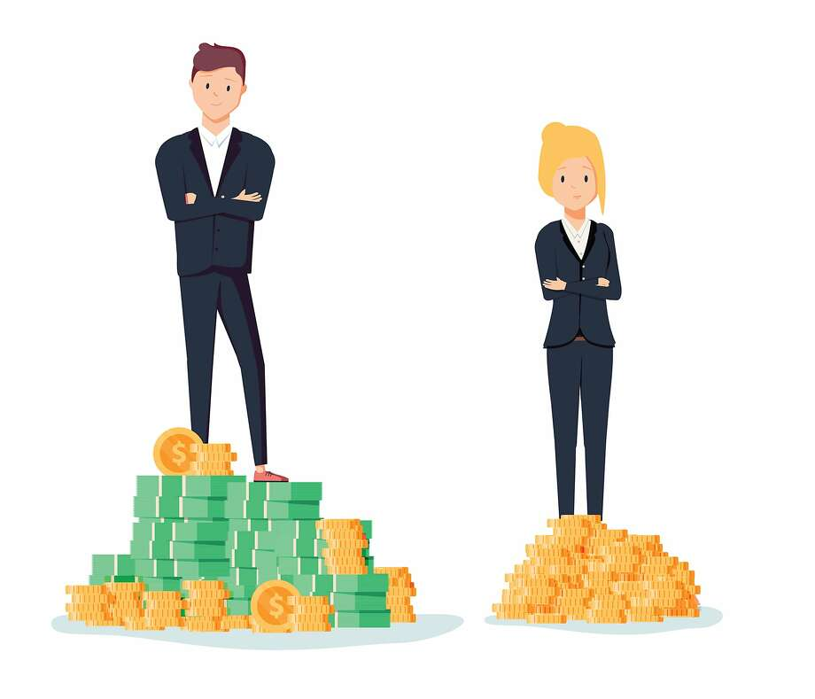 The gender wage gap in the United States has improved over the last several decades, but women still consistently earn less than men. Photo: Dreamstime, TNS