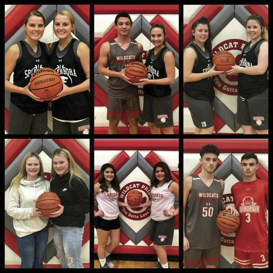 The Splendora High School basketball teams have six sets of twins hitting the hardwood this season.