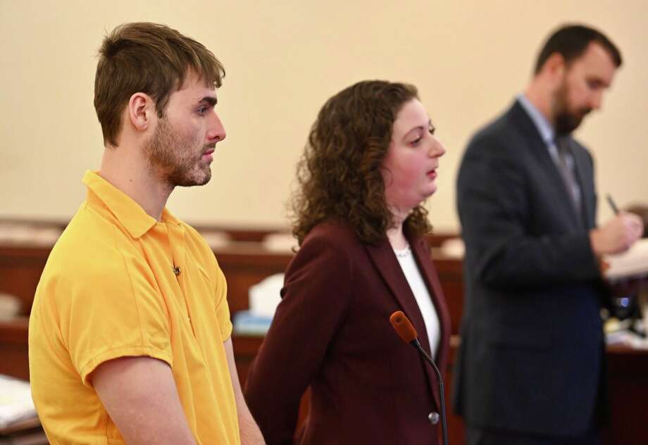 Thomas Slivienski arraigned on Nov. 30, 2018, in Albany County Court for the alleged murder of Johni Dunia in Cohoes, NY, earlier in the month. (Skip Dickstein/Times Union) Photo: Skip Dickstein/Times Union