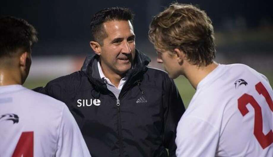After four seasons as the men's soccer coach at SIUE, Mario Sanchez is leaving to accept a position as the Director of Youth Development and Community Relations for Louisville City FC of the United Soccer League. Photo: SIUE Athletics