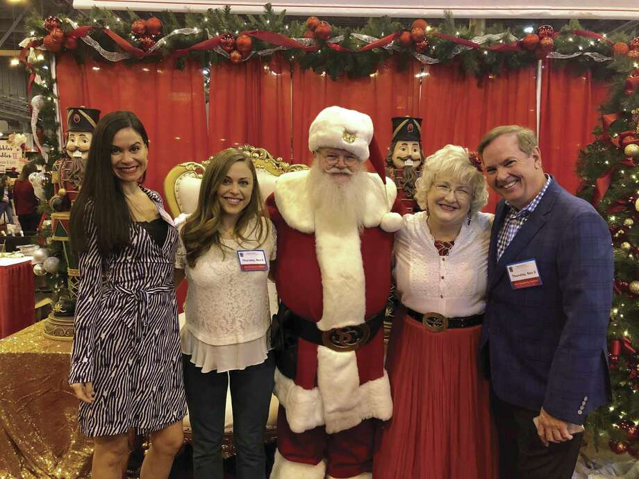 In attendance at the market were Natassia McMillian, Lexi Sakowitz, Mr. and Mrs. Claus, and Andrew McCain.