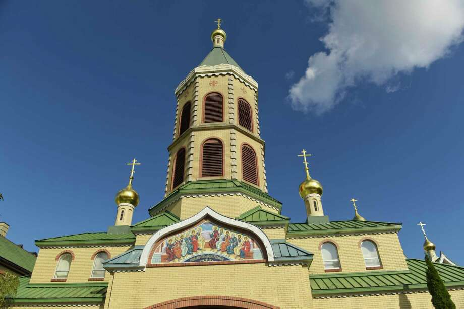 A view of the buildings at the Holy Trinity Monastery and Seminary and Russian History Foundation on Wednesday, Oct. 10, 2018, in Jordanville, N.Y. The exhibit, Last Days of the Last Tsar, is currently on display here.  (Paul Buckowski/Times Union) Photo: Paul Buckowski, Albany Times Union / (Paul Buckowski/Times Union)