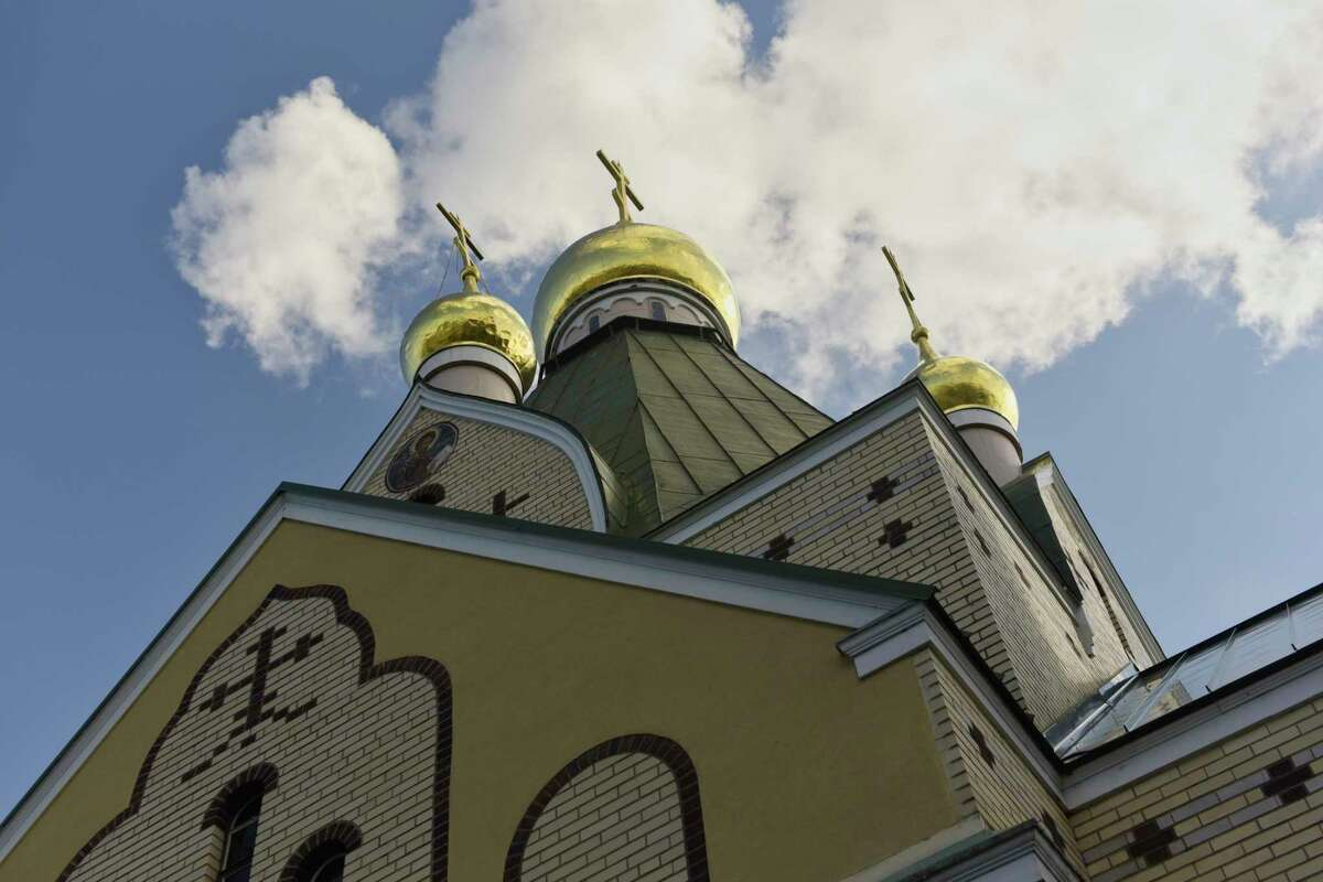 A view of the buildings at the Holy Trinity Monastery and Seminary and Russian History Foundation on Wednesday, Oct. 10, 2018, in Jordanville, N.Y. The exhibit, Last Days of the Last Tsar, is currently on display here. (Paul Buckowski/Times Union)