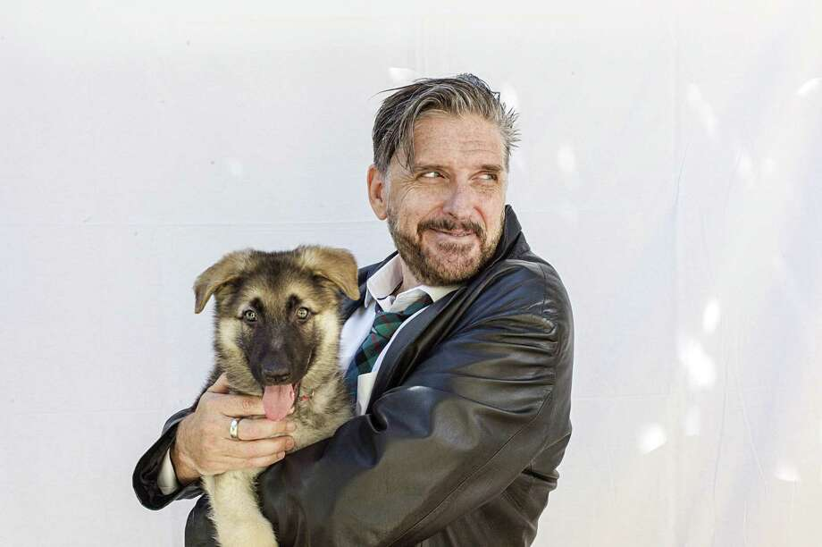 COMIC AT CSMH: Craig Ferguson, shown with dog Spike, will bring his Hobo Fabulous Tour to the College Street Music Hall in New Haven on Dec. 5. Tickets are $30-$50; visit collegestreetmusichall.com. Photo: Courtesy Of Kelli Gallagher