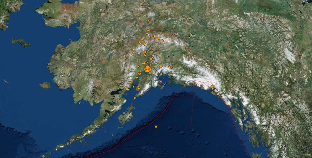 A major earthquake struck Anchorage, Alaska on Friday, November 30, 2018 (USGS)