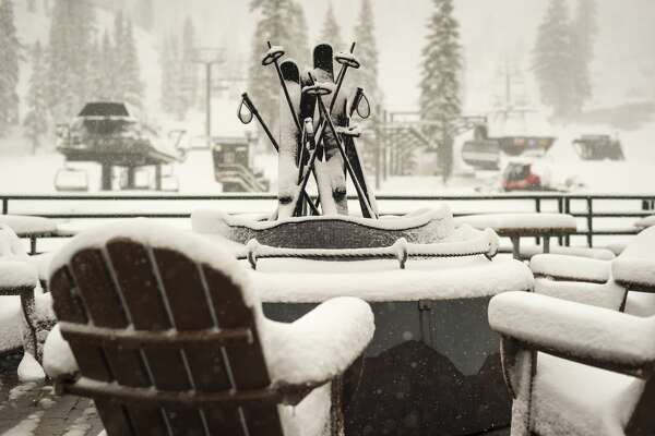 A potent storm dumped snow in the Tahoe Basin, leaving Alpine Meadows with 15 inches of fresh powder from Nov. 29-30, 2018.