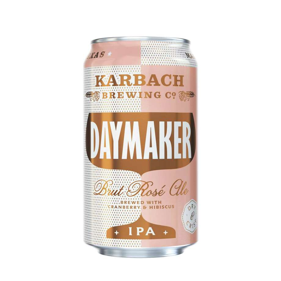 The new Daymaker from Karbach Brewing Co. is a brut rose IPA, with a taste similar to a carbonated wine. It is due for release in mid-December 2018. Photo: Karbach Brewing Co.