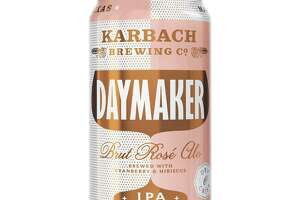 The new Daymaker from Karbach Brewing Co. is a brut rose IPA, with a taste similar to a carbonated wine. It is due for release in mid-December 2018.