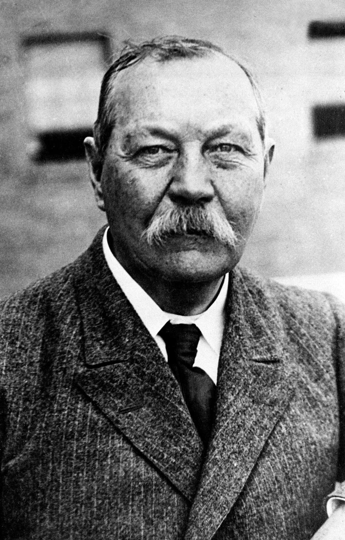Sir Arthur Conan Doyle, author and creator of Sherlock Holmes, is shown in 1930.