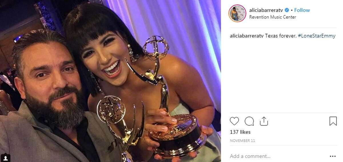 Earlier this month Alicia won an Emmy for her story