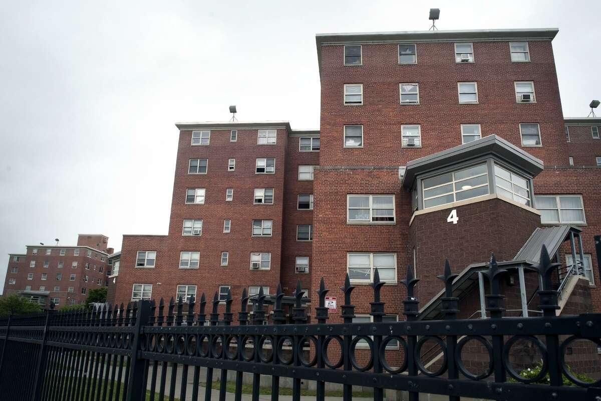 The Charles F. Greene Homes, part of the Bridgeport Housing Authority, in Bridgeport, Conn. June 16, 2017.