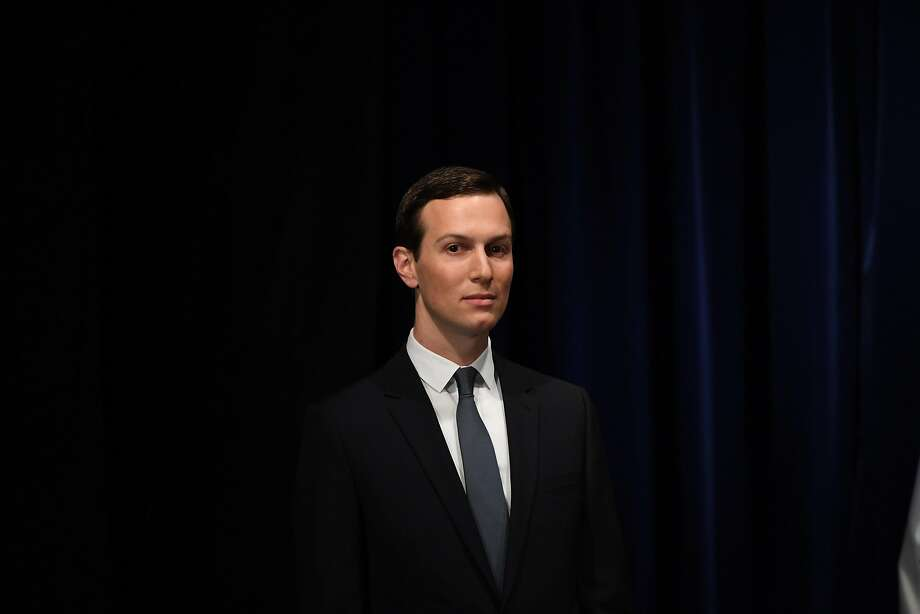 Senior Advisor to the President of the United States Jared Kushner, is pictured before being decorated with the Mexican Order of the Aztec Eagle by Mexico's President Enrique Pena Nieto in Buenos Aires, on November 30, 2018, in the sidelines of the G20 Leaders' Summit. - Mexico bestows its highest honor for foreign nationals on US President Donald Trump's son-in-law Jared Kushner for his role in saving the country's free-trade agreement with the United States and Canada. Photo: SAUL LOEB, AFP/Getty Images