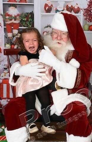 d70560e7 Tis the season: Adorable kids crying on Santa's lap will make your ...